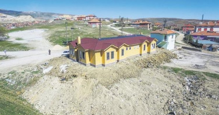 Büyükşehir'den köylere konuk evi