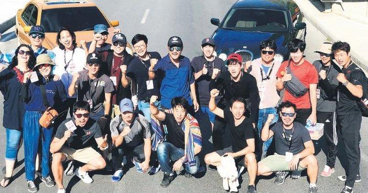 Kore'den 40 kişilik ekip geldi