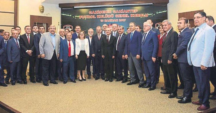 Gazişehir Gaziantep görev dağılımını yaptı