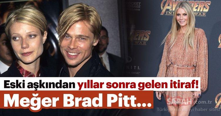 Eski aşkından yıllar sonra gelen itiraf! Meğer Brad Pitt sevgililerine...