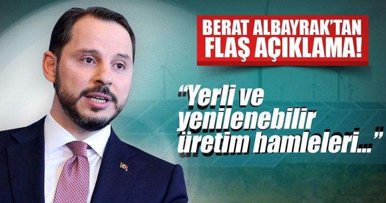 Berat Albayrak'tan flaş elektrik açıklaması!