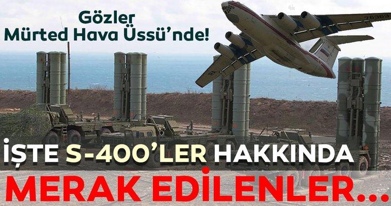 Rus ajansı açıkladı! S-400lere ait 120den fazla füze böyle gelecek!  İşte S-400ler hakkında merak edilenler...