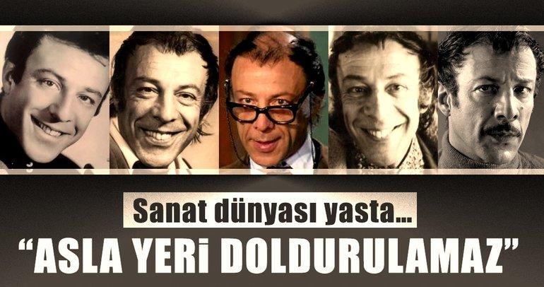 Türk sinemasının acı kaybı Münir Özkul... İşte sanat dünyasından ilk mesajlar