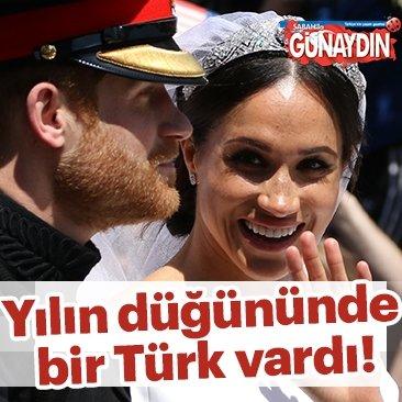 Yılın düğününde bir Türk vardı!