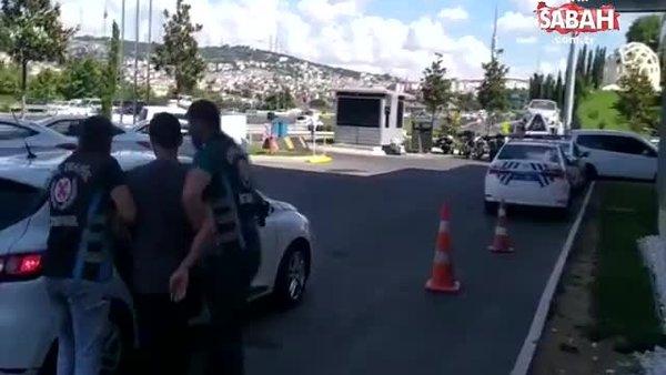 Motosikletli magandaya ceza yağdı | Video
