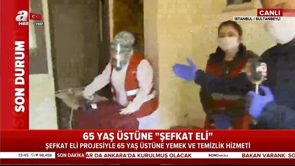 Sultanbeyli Kaymakamlığı'ndan 65 yaş üstüne 'Şevkat Eli'   Video