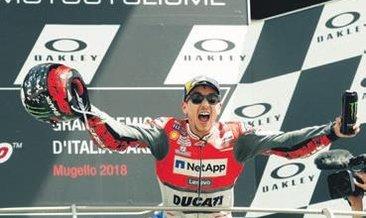 İtalya GP'sinde zafer Jorge Lorenzo'nun