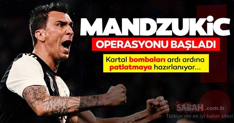 Son dakika Beşiktaş transfer haberleri: Beşiktaş Mandzukic ile anlaştı! Sergen Yalçın o isimleri de istiyor