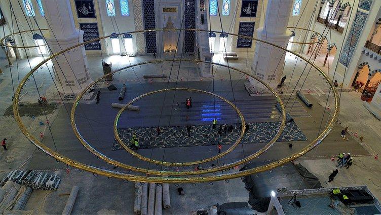 Çamlıca Camisi için geri sayım başladı