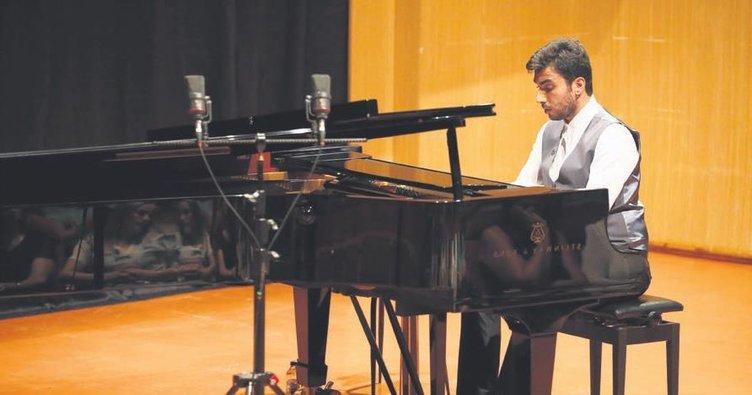 Sıra dışı bir piyano resitali