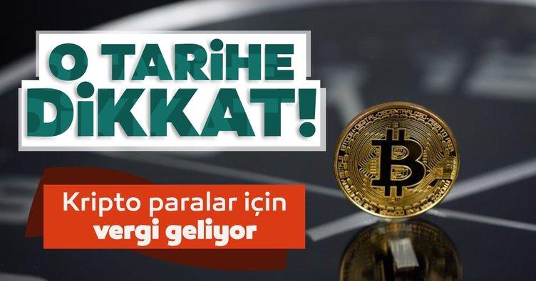 SON DAKİKA: Kripto para için vergi geliyor: Düzenlemede o tarihe dikkat!