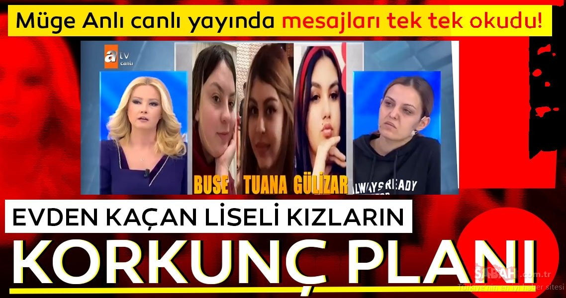 Isparta'da evden kaçan 3 liseli genç bulundu! Türkiye Müge Anlı ile Tatlı Sert'te tanımıştı… ile ilgili görsel sonucu