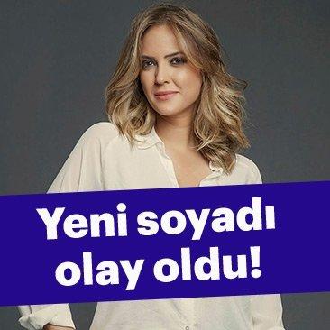 Simge Fıstıkoğlu'nun yeni soyadı olay oldu