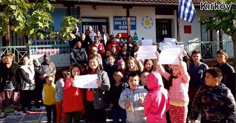 Batı Trakya'da Türk okulları boykotta