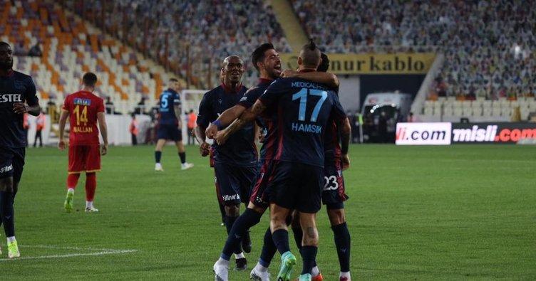 Son dakika: Trabzonspor yeni yıldızlarıyla Malatya'da 'Fırtına' gibi esti! Hamsik ve Gervinho...