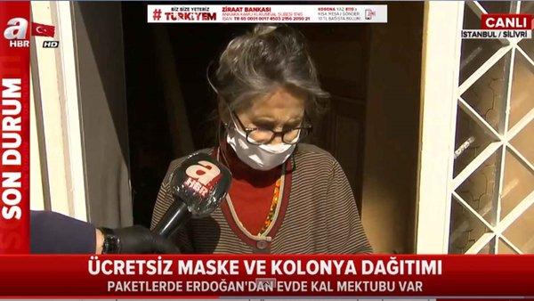 Ücretsiz maske ve kolonya dağıtımına başlandı