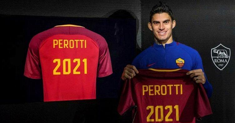 Diego Perotti sözleşme uzattı