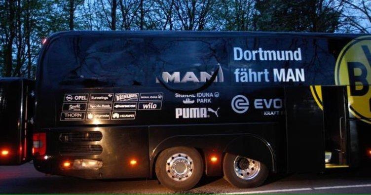 Dortmund otobüsüne saldıran kişi belli oldu!