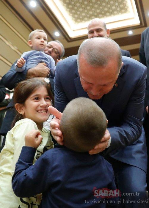 Başkan Erdoğan´dan Külliye´de çocuklara sevgi gösterisi