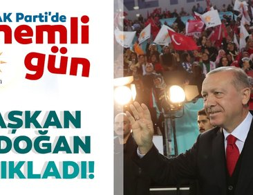 Başkan Erdoğan açıkladı! AK Parti Samsun İlçe...