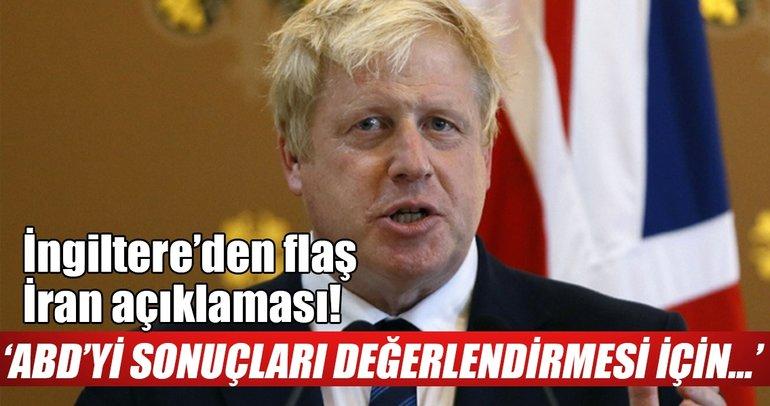 İngiltere'den İran'la nükleer anlaşmayla ilgili flaş açıklama