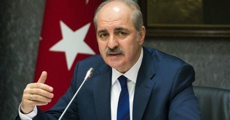 """AK Parti Genel Başkanvekili Kurtulmuş: """"Sözde Genel Başkana tavsiyemiz, gittiği bu yanlış yoldan geri dönmesi"""""""