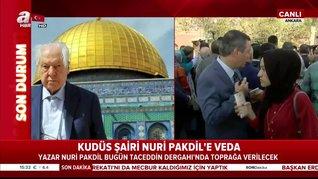 'Kudüs Şairi' Nuri Pakdil dualarla son yolculuğuna uğurlandı