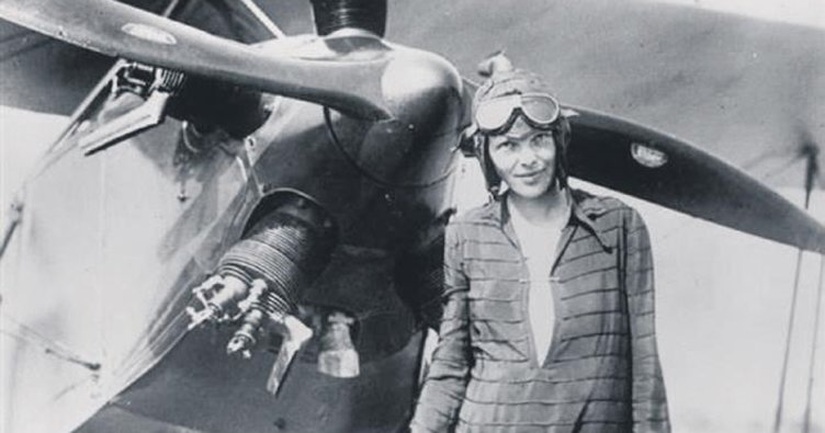 Efsane pilot Earhart'ı Japonlar rehin almış!
