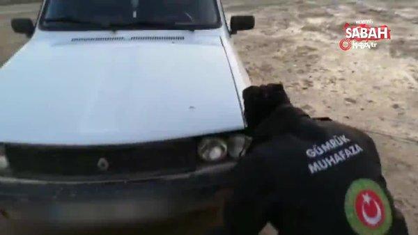Gümrükte inanılmaz olay! Otomobil farında kuzu kaçakçılığı | Video