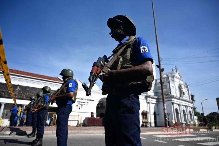 Sri Lanka'da terör faciası! 'OHAL' ilan edildi