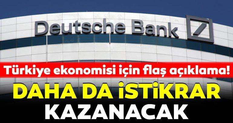 Türkiye ekonomisi daha da istikrar kazanacak