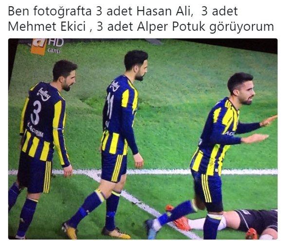'Hasan Ali Kaldırım, Mehmet Ekici, Alper Potuk aynı kişi mi?'