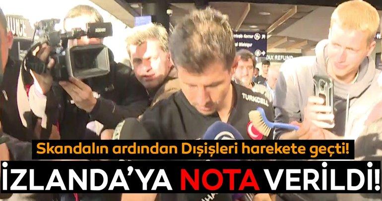 Son dakika: Türkiye'den İzlanda'ya nota!