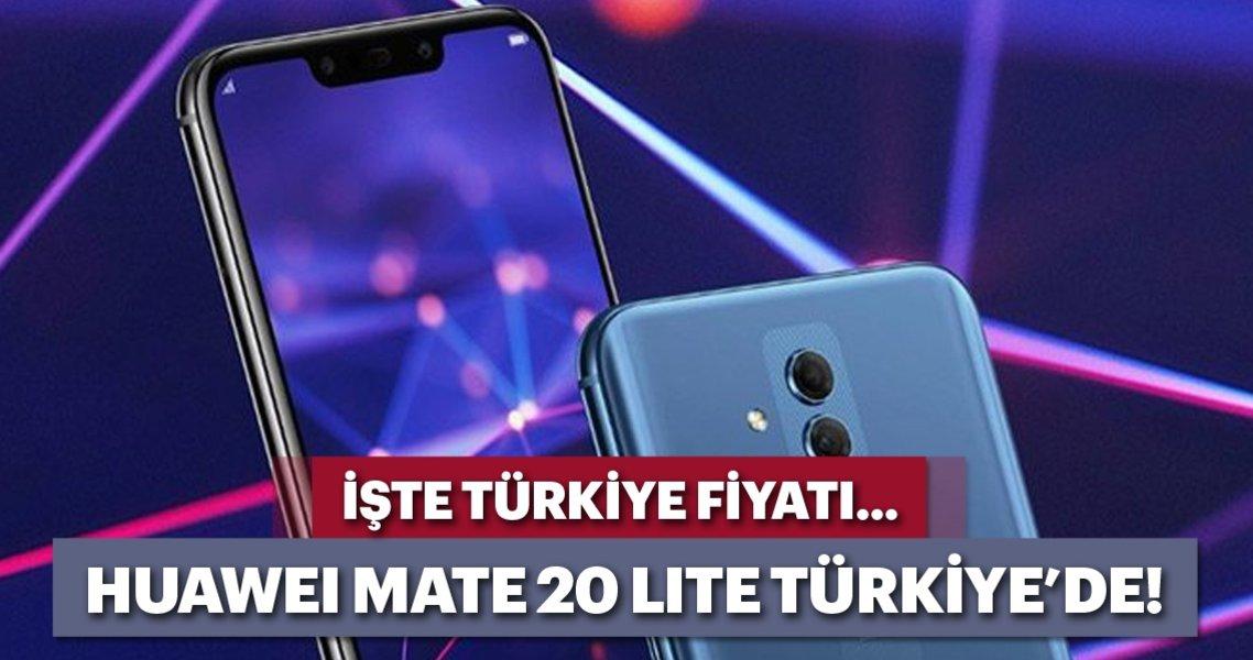Huawei'nin yeni telefonu Mate 20 lite, Türkiye'de satışa çıkıyor. İşte telefonun fiyatı ve özellikleri.