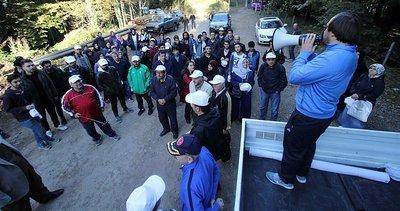 300 kişi Keremali zirvesine yürüdü