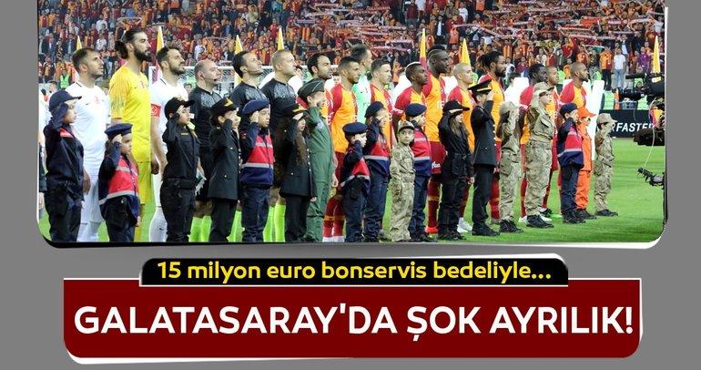 Galatasaray'dan ayrılıyor! 15 milyon euroya...
