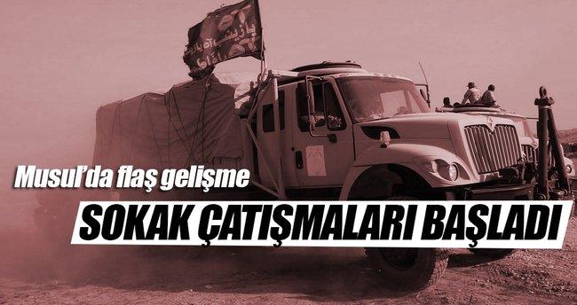 Musul operasyonunda 'sokak çatışmaları' başladı