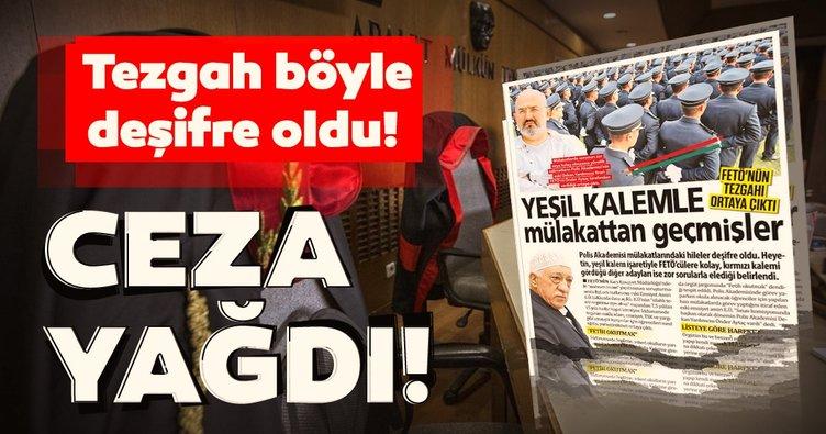 Polis Akademisi sınav sorunlarının FETÖ tarafından sızdırılması davasında flaş gelişme