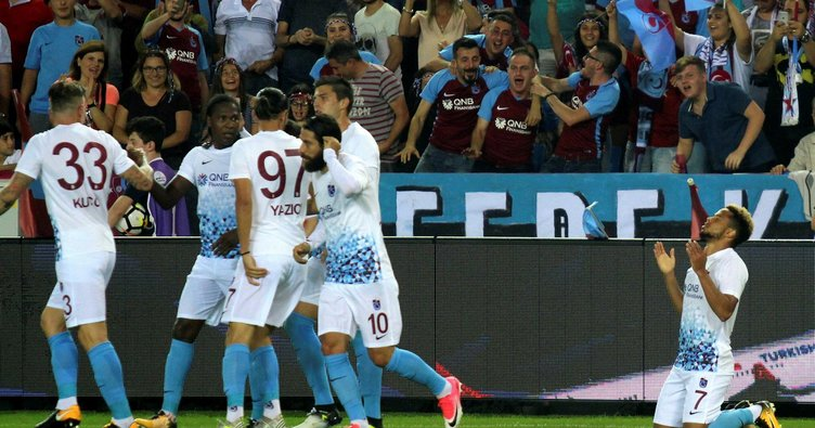 Trabzonspor 50. kuruluş yıl dönümünü galibiyetle kutladı