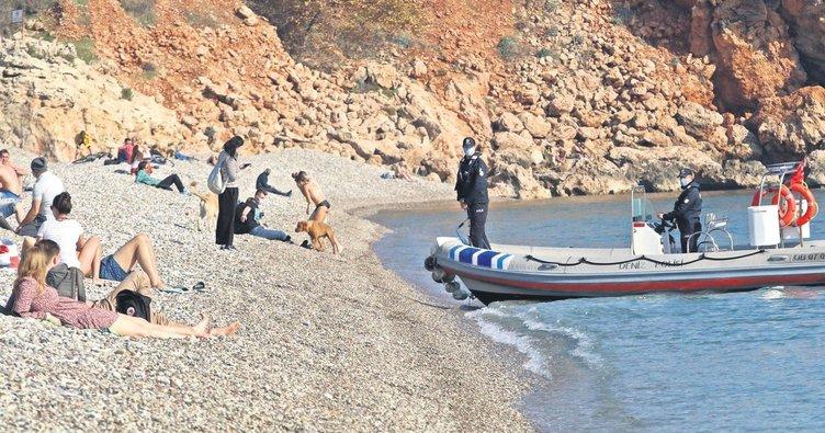 Avrupalı turistler tedbirlere hayran kaldı