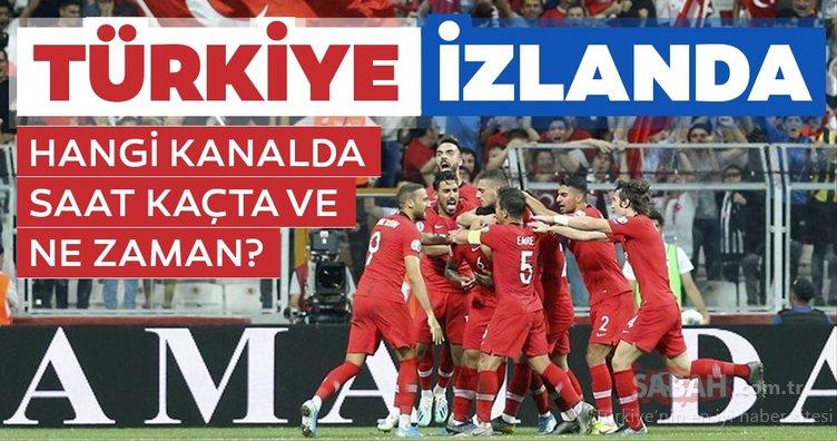 Türkiye İzlanda milli maçı ne zaman, hangi tarihte? Türkiye İzlanda maçı hangi kanalda, saat kaçta başlayacak?