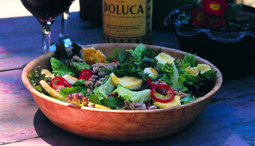 Hellimli Yaz Salatası