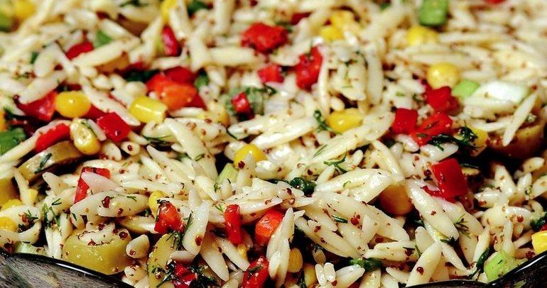 Arpa şehriye salatası tarifi... Arpa şehriye salatası nasıl yapılır?