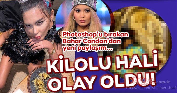 İşte Benim Stilim ile tanınan Bahar Candan photoshop yapmayı bıraktı... Bahar Candan'ın kilolu hali olay oldu!