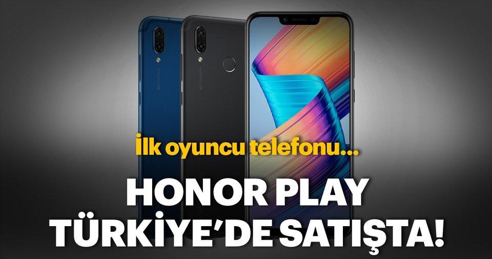 Honor Play'in Türkiye satış fiyatı belli oldu