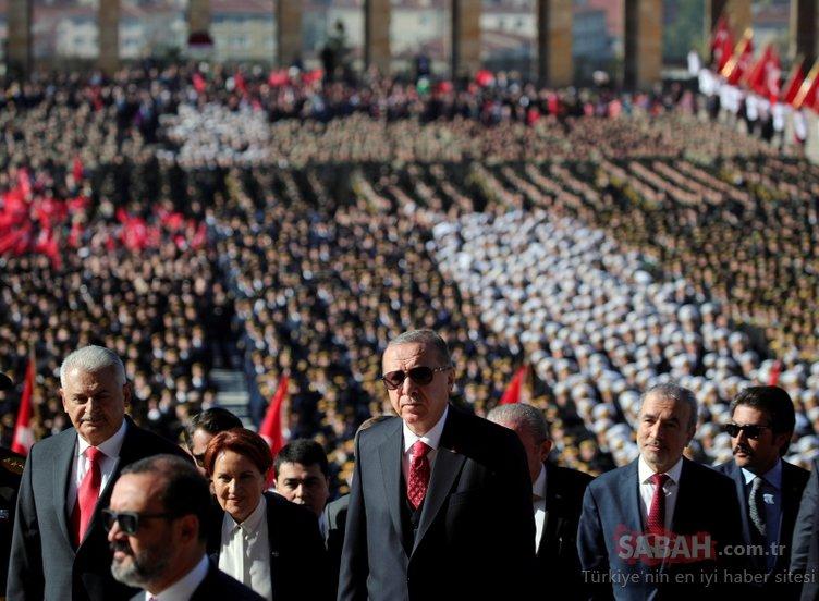 29 Ekim Cumhuriyet Bayramı coşkusu! Başkan Erdoğan'dan 29 Ekim Cumhuriyet bayramı mesajları