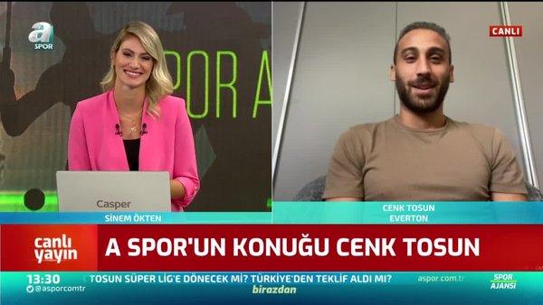 Cenk Tosun'dan Fenerbahçe açıklaması!