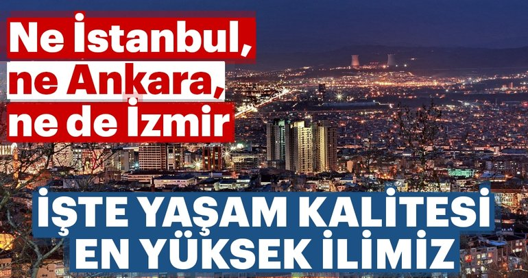 . In the first 100 there is neither Istanbul nor Izmir and Ankara there ... See where it entered