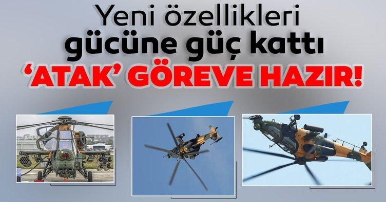 Milli taarruz helikopteri 'Atak' göreve hazır! Yeni özellikleri gücüne güç kattı