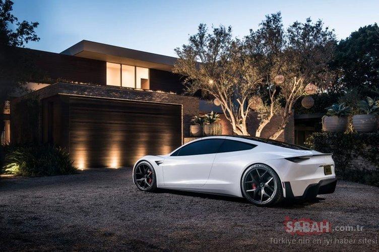 Tesla'nın yeni Roadster modelinin fotoğrafları yayınlandı